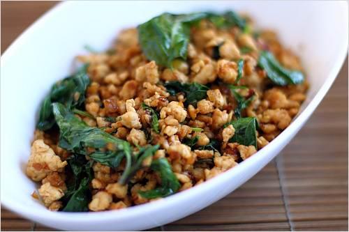 basil_chicken2 - Лучшие блюда тайской кухни - уличная еда в Тайланде
