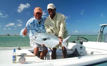 рыбалка на острове Крукед Багамы