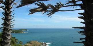Вид на остров Пхукет