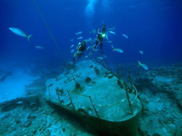 затонувшие корабли Багамы