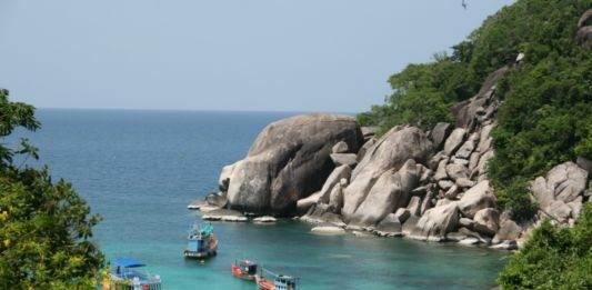 берег Ко Тао Тайланд