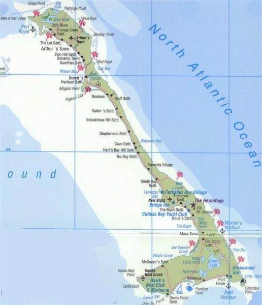 Снорклинг на острове Кэт на Багамах