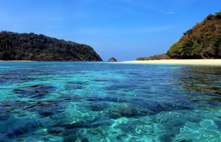 Ко Крадан - один из самых изолированных островов Тайланда - Ко Крадан - один из самых изолированных островов Тайланда