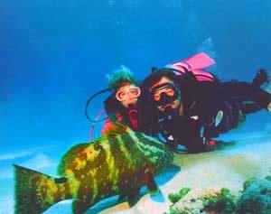 scuba1 - Узнайте всё о дайвинге на Багамах - самом лучшем