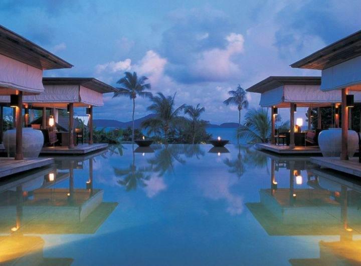 he Evason Phuket and Six Senses Spa