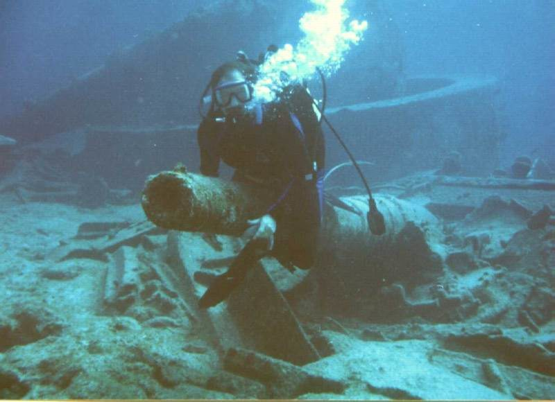 Дайвинг на Багамах - остров Кэт