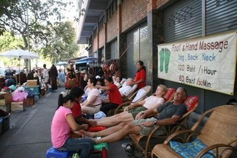 foot-massage-in-thailand - Какой он бывает - тайский массаж?