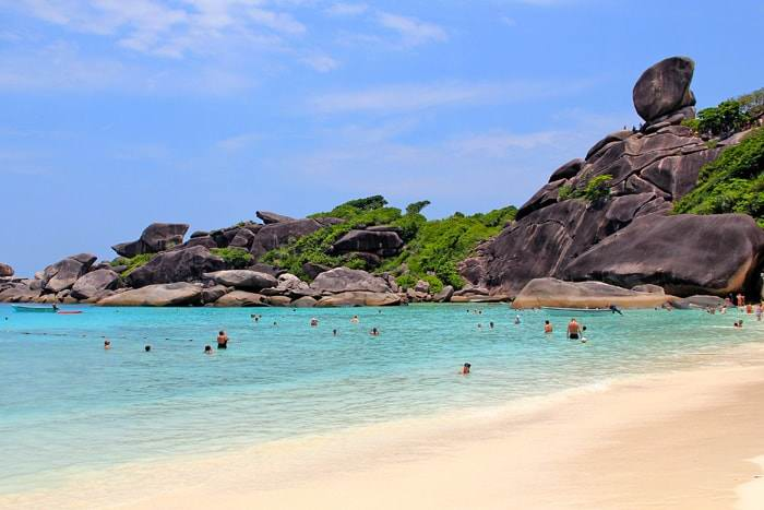 симиланские острова жемчужина тайланда - Какой остров лучший для отдыха в Тайланде?