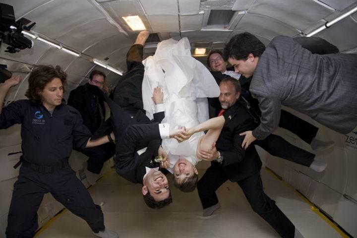 свадьба в невесомости - 9 опасных вещей, которые непременно стоит попробовать каждому любителю экстрима