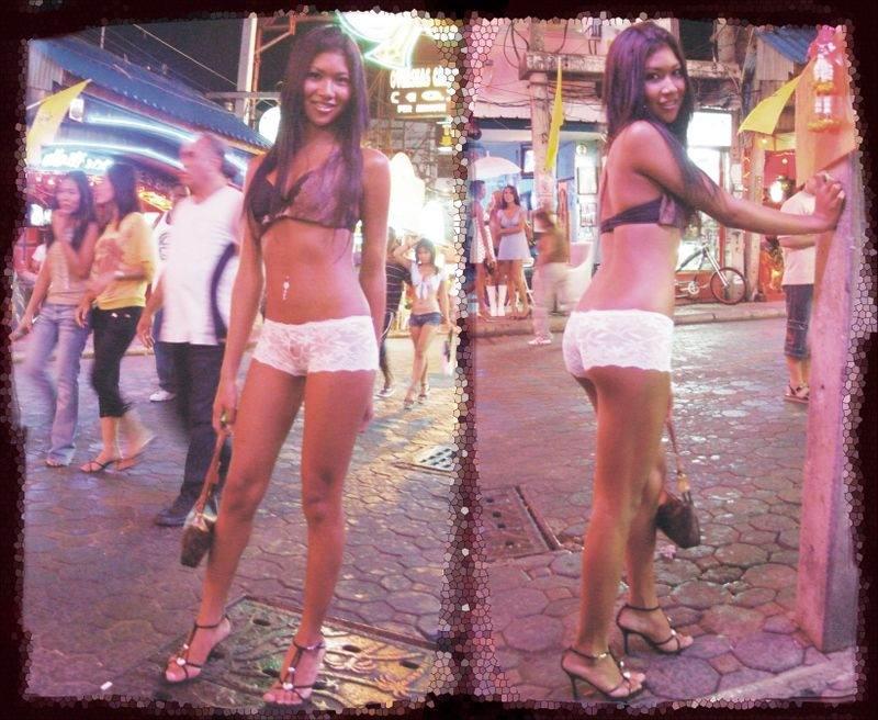 В тайланде транссексуалы