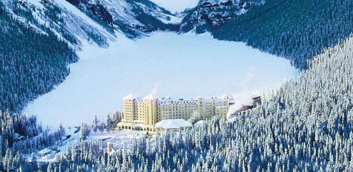 LakeLouise лучшие горнолыжные курорты