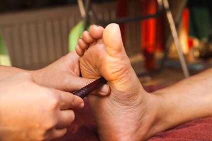 Massage Foot массаж ступней в Тайланде