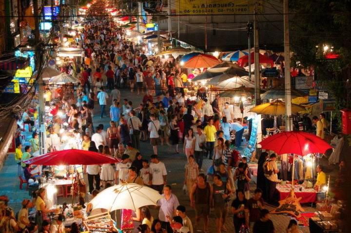 ночной рынок тайланд