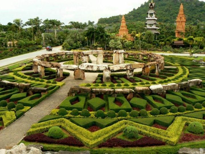 сад Нонг Нуч Nong-Nooch - Экскурсии в Тайланде, которые следует обязательно посетить