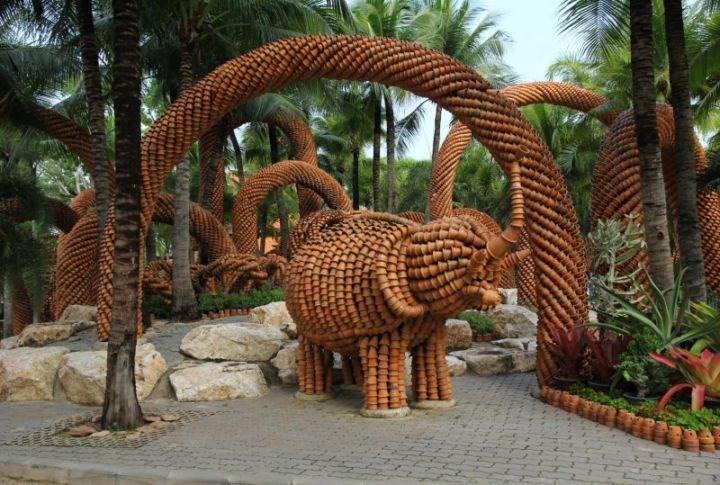 сад Нонг Нуч Nong-Nooch-4 - Экскурсии в Тайланде, которые следует обязательно посетить