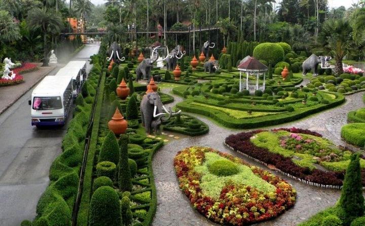 сад Нонг Нуч Nong-Nooch-5 - Экскурсии в Тайланде, которые следует обязательно посетить