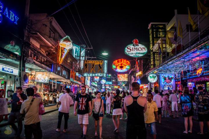 Pattaya Night Walking Street