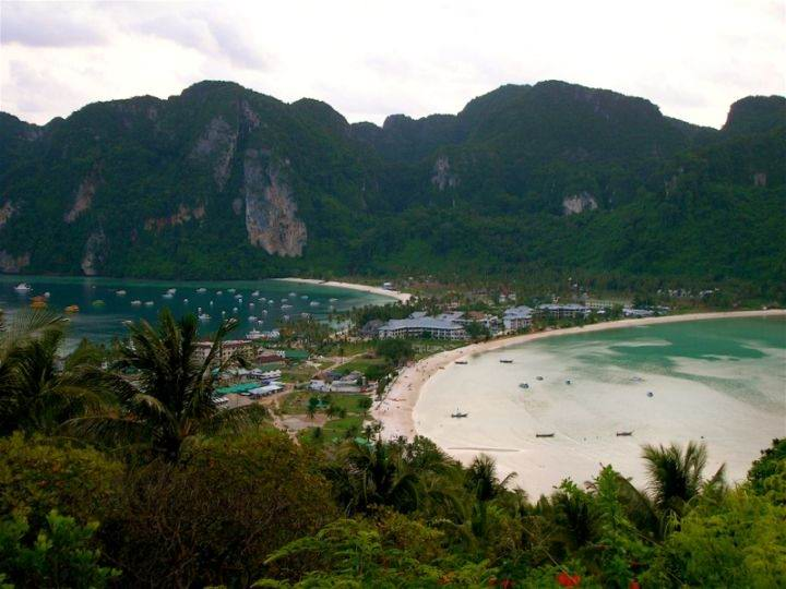 Phi-Phi острова Пхи Пхи фото пляжи - Острова Пхи-Пхи - один из лучших курортов Тайланда