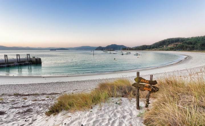 Пляжи Испании Playa-de-Rodas - Настоящее уединение - 7 пляжей Испании