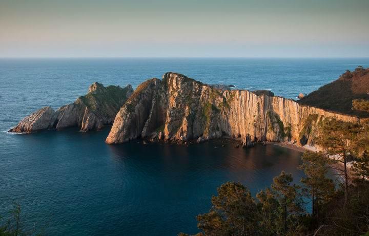 Пляжи Испании Playa-del-Silencio - Настоящее уединение - 7 пляжей Испании