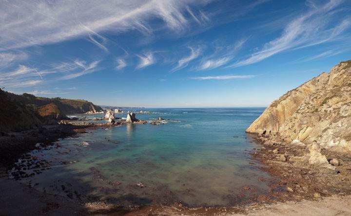 Пляжи Испании  Playa-del-Silencio1 - Настоящее уединение - 7 пляжей Испании
