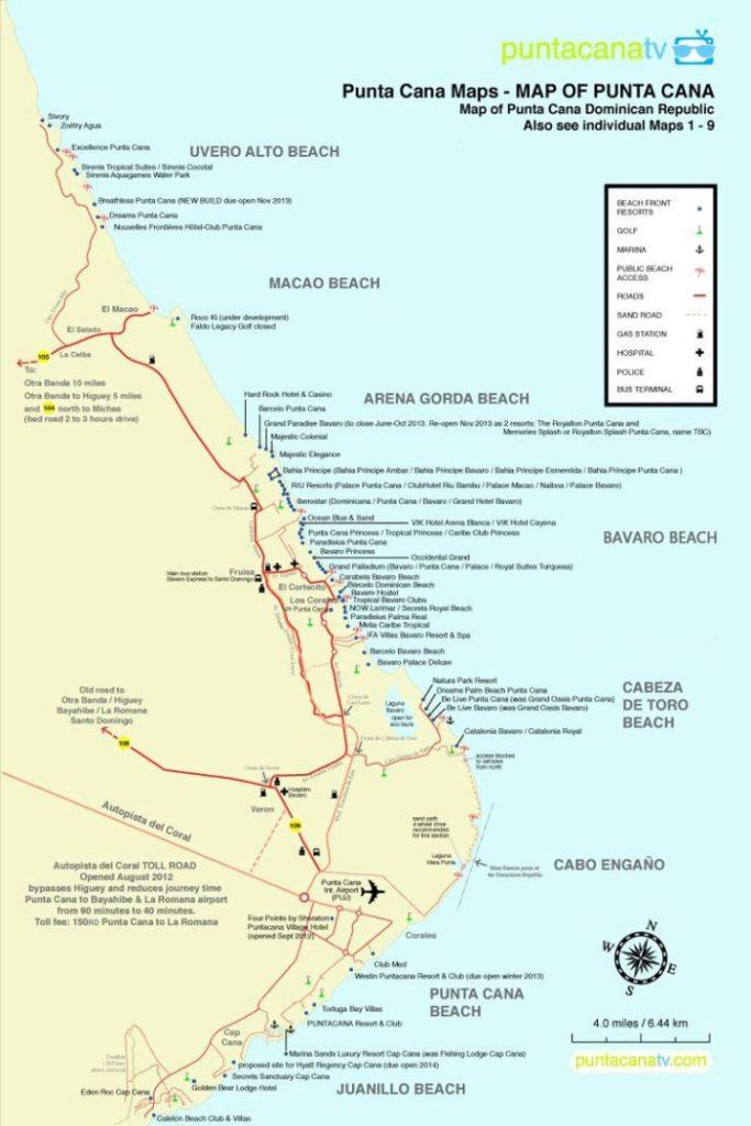 10 лучших пляжей Пунта Кана