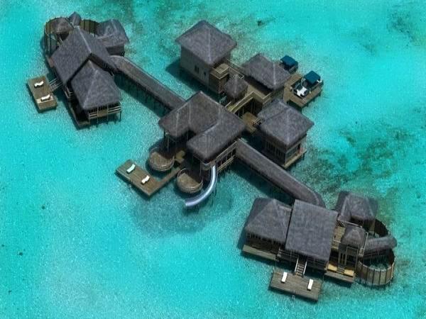 Какие самые шикарные отели на Мальдивах? - Какие самые шикарные отели на Мальдивах?