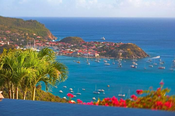 St-Barts-View-of-Villas экзотические острова и места - Экзотические острова – на любой вкус