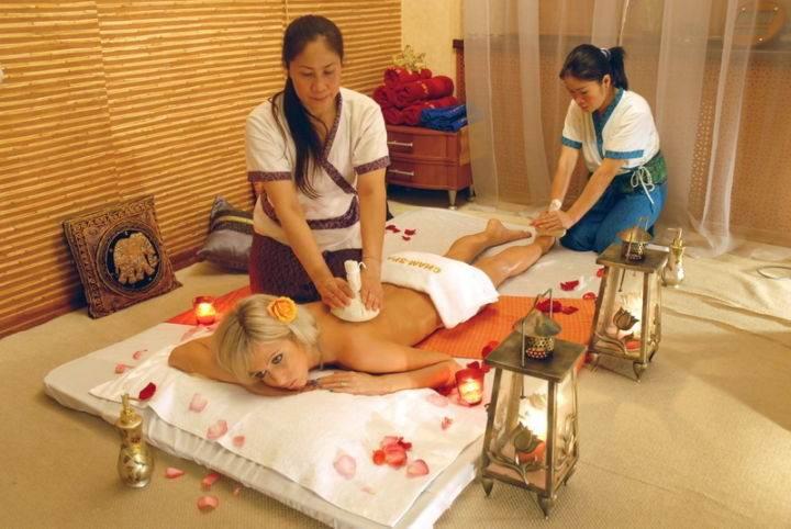 Thai Herb Massage отличный тайский массаж для женщин