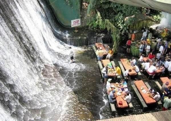необычный ресторан Ville Escudero