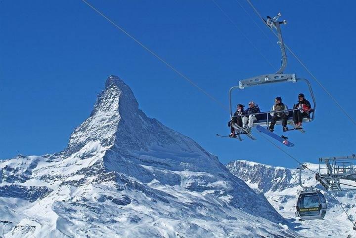 Zermatt лучшие горнолыжные курорты