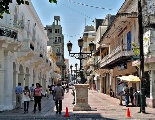 Zona-Colonial-Santo-Domingo Колониальный квартал Санто-Доминго
