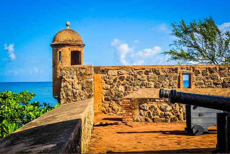 старая крепость в Пуэрто Плата