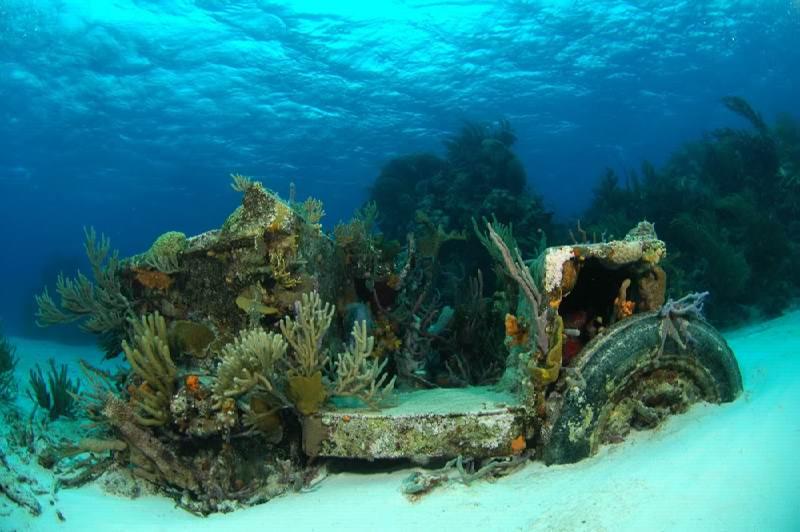 Эксума Багамы jeep reef