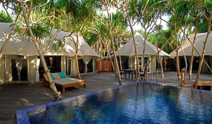 Лучшие курорты на Мальдивах banyan-tree - Какие самые шикарные отели на Мальдивах?