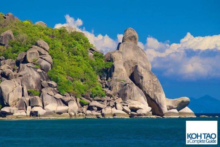 скала Будды на Ко Тао - Лучшие пляжи и бухты острова Ко Тао - Сайри Бич и Чалок