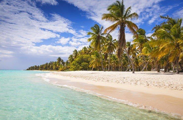 Canto De La Playa, самый красивый пляж острова Саона
