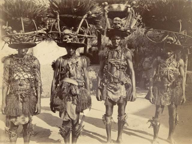 каннибализм в Западной Африке
