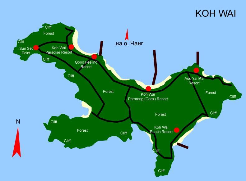 karta-koh-wai - Остров Ко Вай – один из лучших секретов Тайланда.