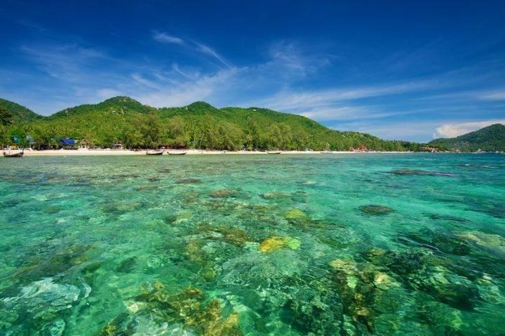 koh tao sairee beach - Лучшие пляжи и бухты острова Ко Тао - Сайри Бич и Чалок