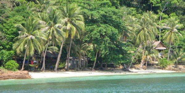 Пляж на острове Ко ВАй - Остров Ко Вай – один из лучших секретов Тайланда.