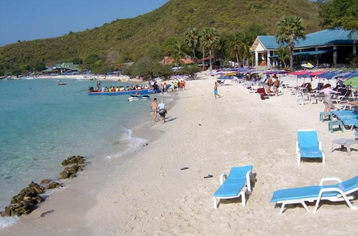 Пляжи острова Ко Ларн koh larn