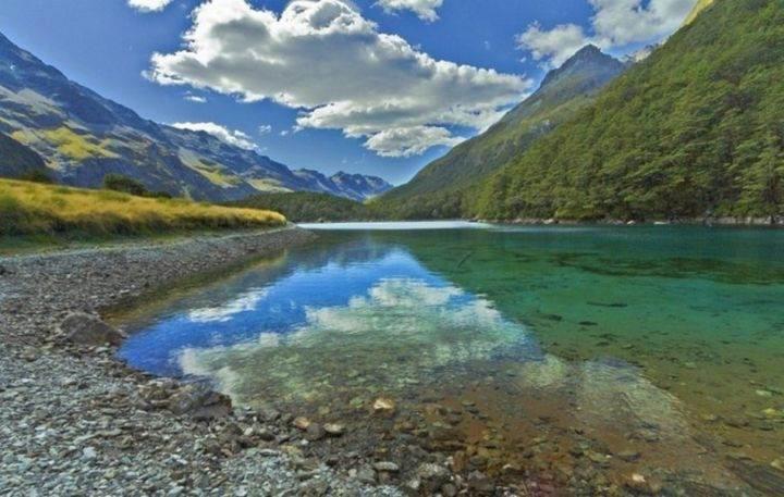 nelson lake - Вы никогда не поверите, почему в этом озере запрещено купаться!