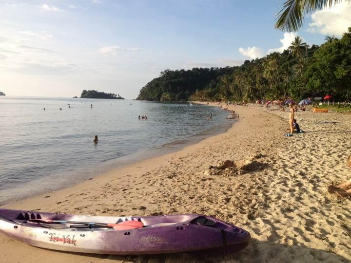 lonely-beach-koh-chang-thailand - Пляжи острова Ко Чанг - краткий путеводитель.