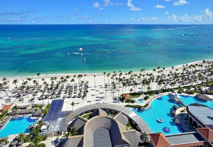melia palmareal puntacana пляж - Обзор отелей Доминиканы для отдыха с детьми