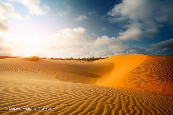 Красные дюны Муйне Фантьет