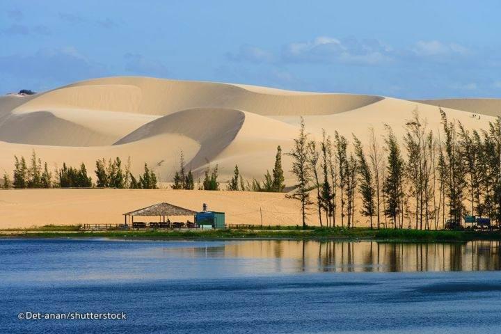mui ne white sand dunes - Пляжи Фантьета и другие достопримечательности