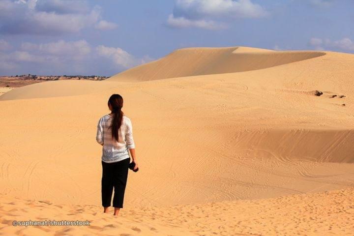 Белые песчаные дюны Муйне Фантьет