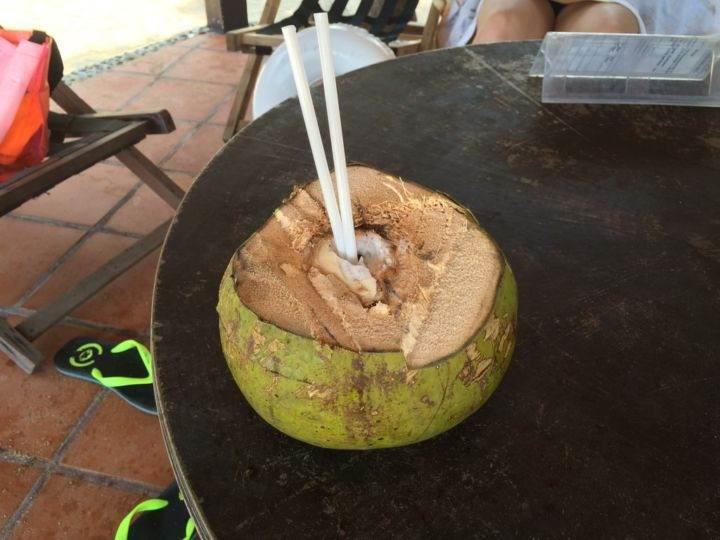 кокос в нячанге