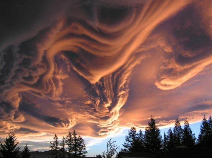 облака удивительные природные явления - 39 удивительных и сумасшедших природных явлений - часть 3